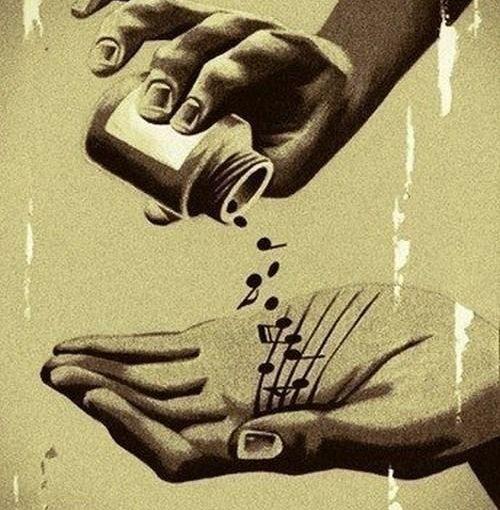 Muzica și politica: secera și ciocanul timpurilor.